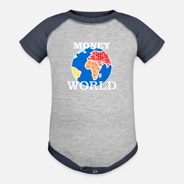 Finances Money World finances - Baseball Baby Bodysuit