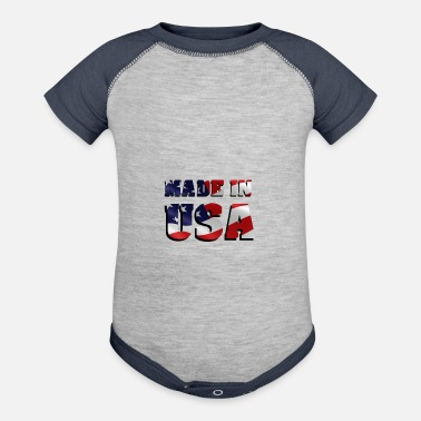 factory - Baseball Baby Bodysuit