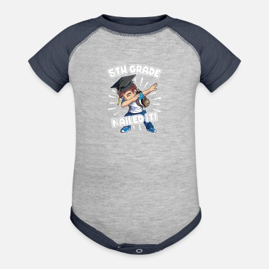5th Grade Boys Graduation Dabbing Graduation Boy T shirt 5th Grade Boys Clas - Baseball Baby Bodysuit
