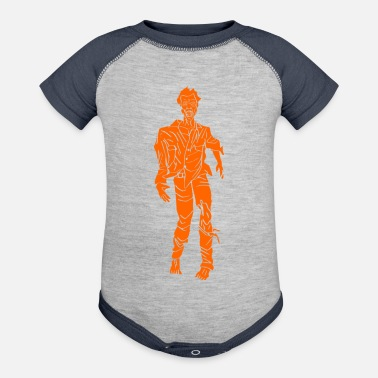 Kama Sutra zombie orange - Baby Contrast One Piece