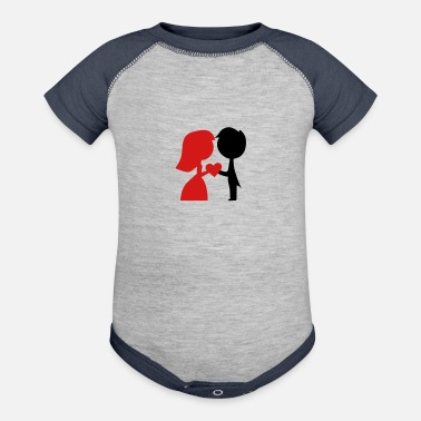 Wedding Couple Wedding Couple - Baseball Baby Bodysuit