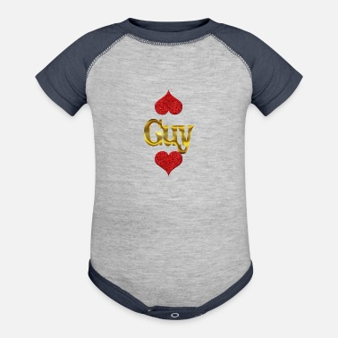 Guys Guy - Contrast Baby Bodysuit