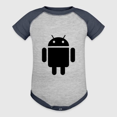 android - Baby Contrast One Piece