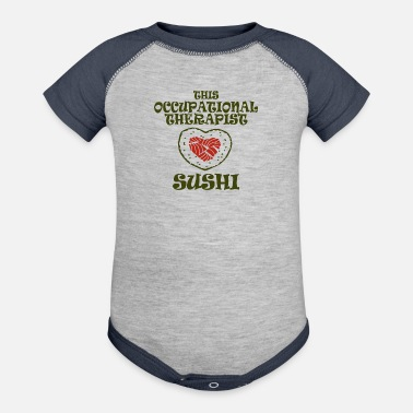 Occupation This occupational therapist - Contrast Baby Bodysuit