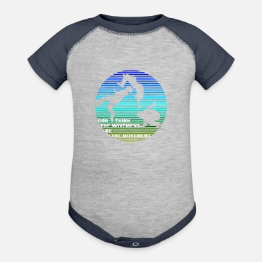 Movement Parkour Be the Movement - Baseball Baby Bodysuit