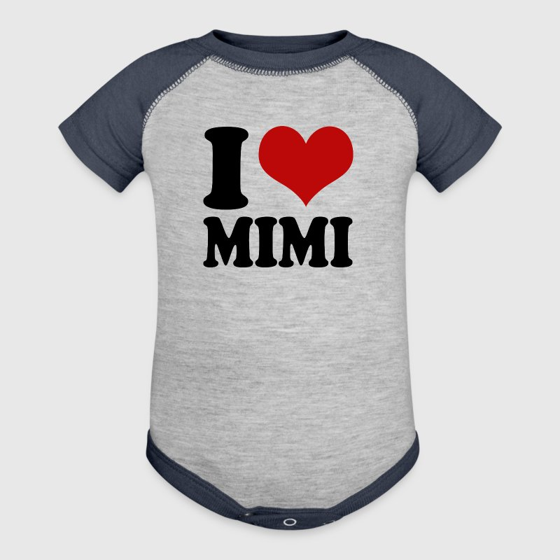 I Heart Mimi - Baby Contrast One Piece