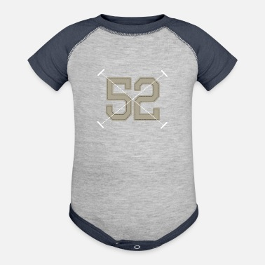 Vintage Sport sports and vintage 44 F - Baseball Baby Bodysuit