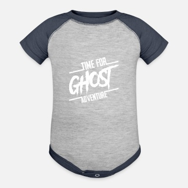 Ghost Time For Ghost Adventure Halloween Party Gift - Baseball Baby Bodysuit