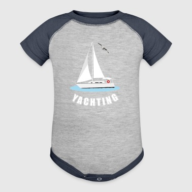 Yachting - Baby Contrast One Piece