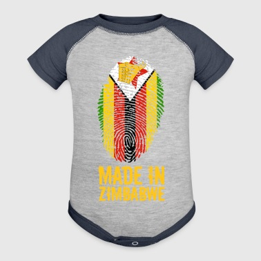 Made In Zimbabwe / Great Zimbabwe - Baby Contrast One Piece