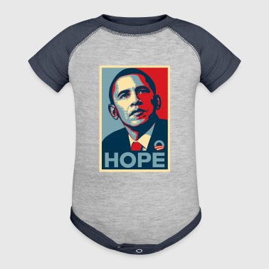 obama - Baby Contrast One Piece