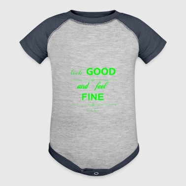 Look good and feel fine - Baby Contrast One Piece