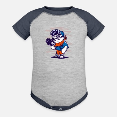 Street Mind Street Dreams - Baseball Baby Bodysuit