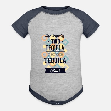 Tequila One Tequila Two Tequila Three Tequila - Baseball Baby Bodysuit