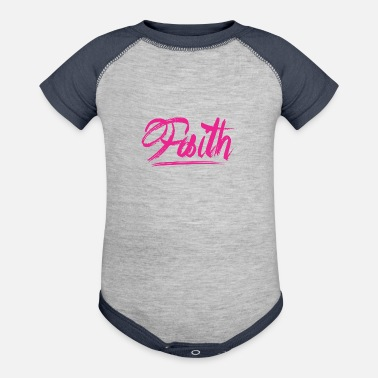 Bliss Faith | Faith Based - Baseball Baby Bodysuit
