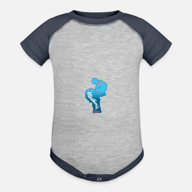 Birth Name Birth Motherslove - Baseball Baby Bodysuit