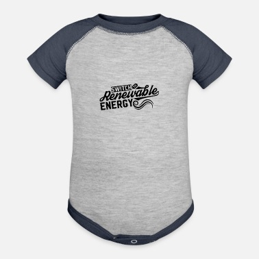 Energies Renewable Energy Renewable Energy - Baseball Baby Bodysuit