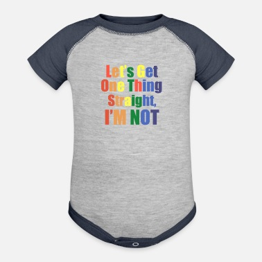 Parade Gay - Contrast Baby Bodysuit