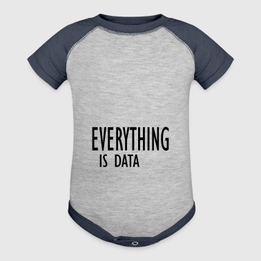 everything is data - Baby Contrast One Piece
