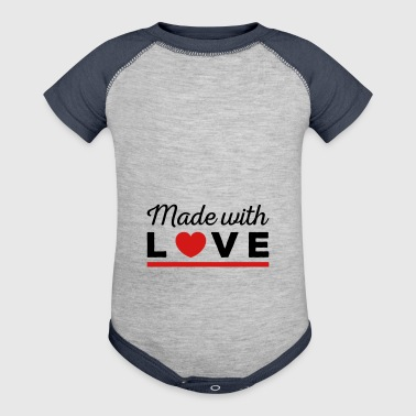 Made with love - Baby Contrast One Piece