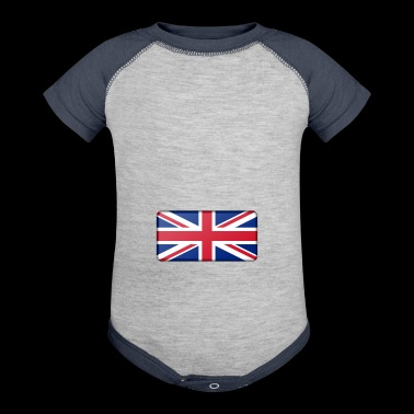 british flag - Baby Contrast One Piece