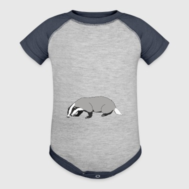 badger - Baby Contrast One Piece