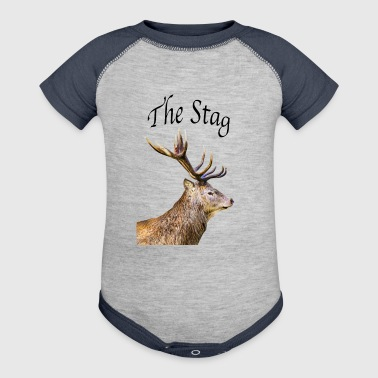 Stag - Baby Contrast One Piece
