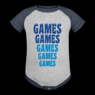 Games Games Games - Baby Contrast One Piece