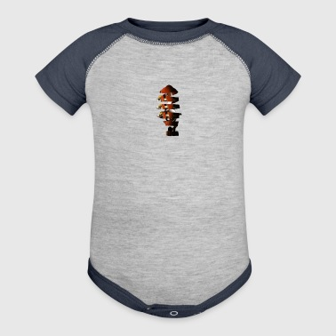 Spiral Guitar Treble Clef - Baby Contrast One Piece