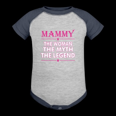 Mammy The Woman The Myth The Legend - Baby Contrast One Piece