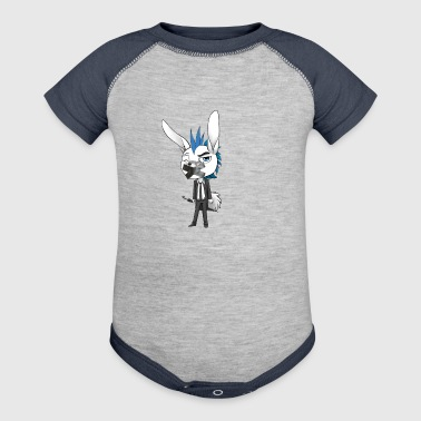 HARE' THE IRRITATED HARE - Baby Contrast One Piece
