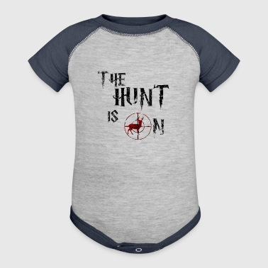 The hunt is on - Baby Contrast One Piece