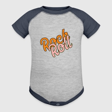 ROCK N ROLL - Baby Contrast One Piece
