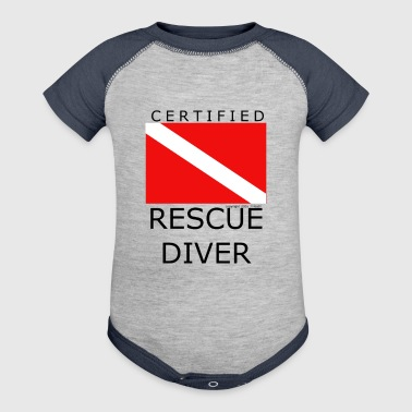 Rescue Diver - Baby Contrast One Piece