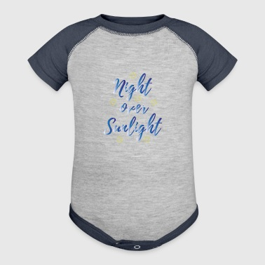 Night over Sunlight - Baby Contrast One Piece