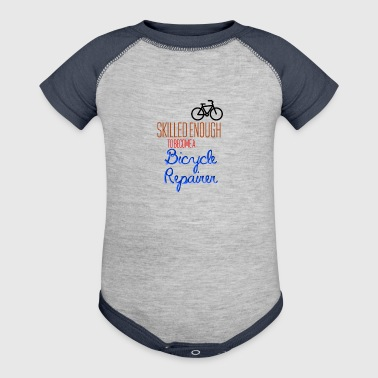 Bicycle Repairer - Baby Contrast One Piece