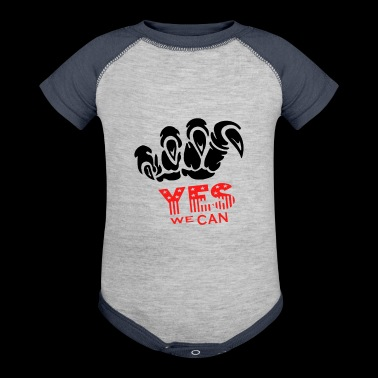 Yes We Can - Baby Contrast One Piece