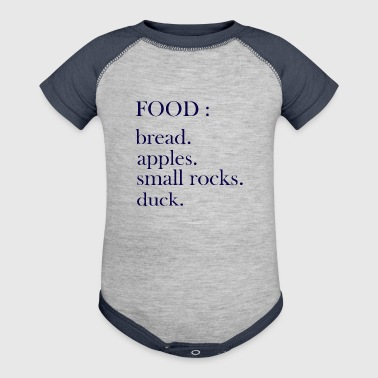 Food - Baby Contrast One Piece