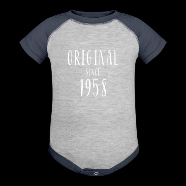 Original since 1958 - Born in 1958 - Baby Contrast One Piece