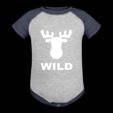 WILD ANIMAL - Baby Contrast One Piece