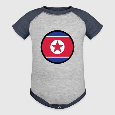 In A Sign Of North Korea - Baby Contrast One Piece