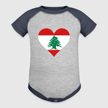 A Heart For Lebanon - Baby Contrast One Piece