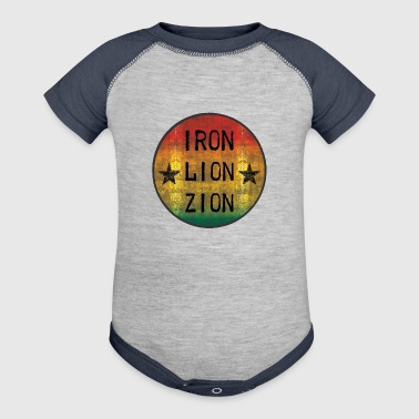iron-lion-zion - Baby Contrast One Piece