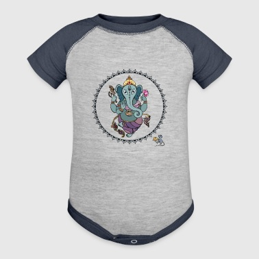 Hindu God Ganesha - Baby Contrast One Piece