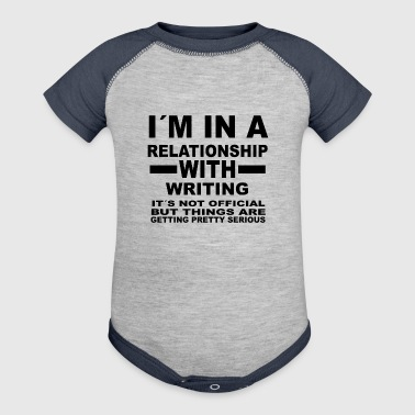 relationship with WRITING - Baby Contrast One Piece