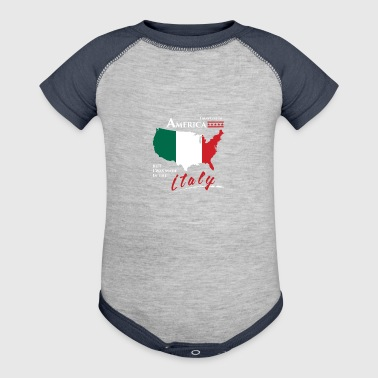 Italy - Baby Contrast One Piece