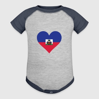A Heart For Haiti - Baby Contrast One Piece