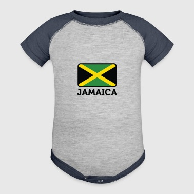 National Flag Of Jamaica - Baby Contrast One Piece