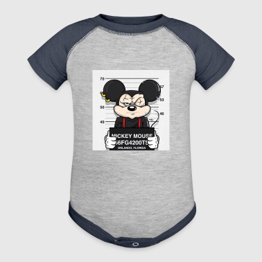 mickey - Baby Contrast One Piece