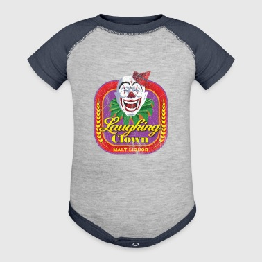 Laughing Clown Malt Liquor - Baby Contrast One Piece